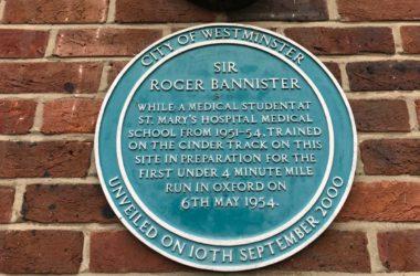 roger bannister training